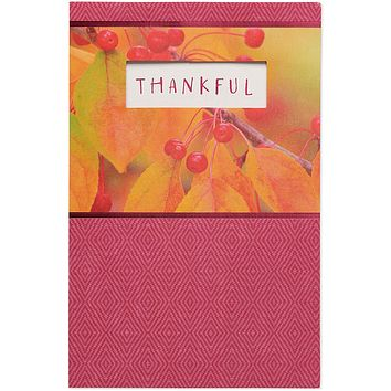 Happy Thanksgiving Greetings Card for Friends and Family (Thankful)