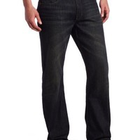 Lee Men's Dungarees Belted Relaxed Fit Bootcut Jean, Torque, 30W x 30L