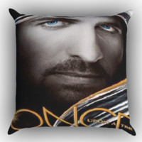 Once Upon A Time Captain Hook Zippered Pillows  Covers 16x16, 18x18, 20x20 Inches