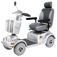 Road Class Heavy Duty Scooter HS-890 - CTM Homecare 4-Wheel Full Size Scooters   TopMobility.com