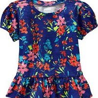 Short-Sleeve Peplum Tees for Baby