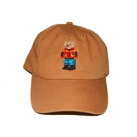 Bear Brown Dad Cap