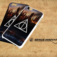 Harry Potter Deathly Hallows Samsung Galaxy S3 S4 S5 Note 3 , iPhone 4(S) 5(S) 5c 6 Plus , iPod 4 5 case