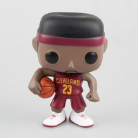 10cm New Funko Pop! Sports Collectible Figures Vinly Figure #01 Lebron James