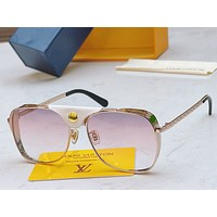LV Louis Vuitton Popular Womens's Mens's Fashion Shades Eyeglasses Glasses Sunglasses 0421