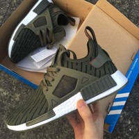 """Adidas"" NMD XR1 Duck Camo Women Men Running Sport Casual Shoes Sneakers Camouflage (B"