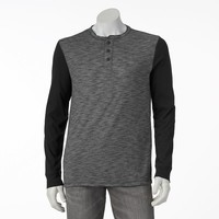 Urban Pipeline Colorblock Henley - Big & Tall, Size: