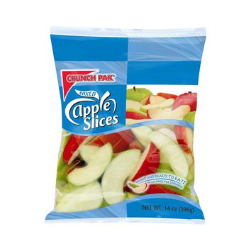 Crunch Pak Mixed Apple Slices - 14oz