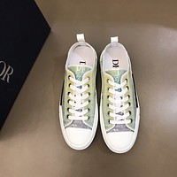 dior fashion men womens casual running sport shoes sneakers slipper sandals high heels shoes 173