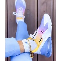 Nike Air Max 270 Fashion Woman Men Casual Air Cushion Sport Running Sneakers Shoes