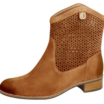 Leather Boot Camel - Dumond