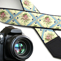 Elegant camera strap. Tracery camera strap. Camera strap for DSLR and SLR cameras. Camera accessories by InTePro