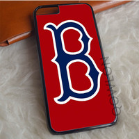 Boston Red Sox Logo Red iPhone 6   6S Case