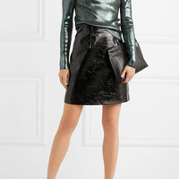 Christopher Kane - Iridescent ribbed-knit sweater