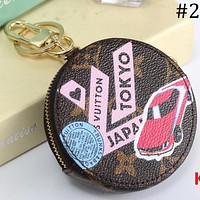 LV Louis Vuitton 2018 men and women new coin bag car keychain creative coin purse F-MYJSY-BB #2