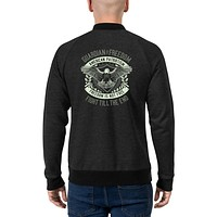 Vintage Retro Streetwear Bomber Jackets for Men Guardian Of Freedom American Patriotism