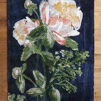 Bloomstudy Rug by Anthropologie in Dark Blue Size: