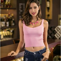 Bralette Beach Hot Comfortable Stylish Summer Knit Sexy Stretch Vest [10467513172]