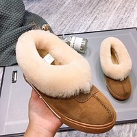 UGG fashion hot seller of women's casual uggs, sheep's fur all-in-one low-top ankle boots Shoes #5