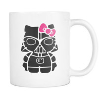 Star Wars Hello Kitty Darth Vader Coffee Mug