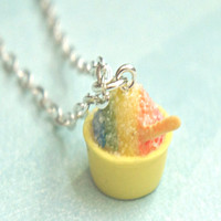 Shaved Ice Necklace