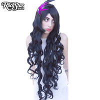 "Cosplay Wigs USA™  Curly 90cm/36"" - Black -00317"