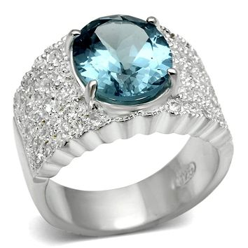 Cheap Sterling Silver Rings LOS551 Silver 925 Sterling Silver Ring