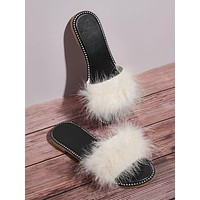 Faux Fur Decor Sliders