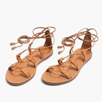The Boardwalk Lace-Up Sandal : shopmadewell sandals | Madewell