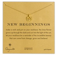 Women's Dogeared 'Reminder - New Beginnings' Pendant Necklace