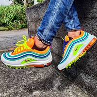 "Nike Air Max 97 ""London - On Air""Rainbow Sneakers"