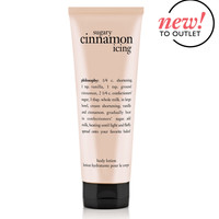 sugary cinnamon icing | body lotion | philosophy