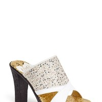 Women's Love and Liberty 'Dallas' Embellished Stretch Sandal,