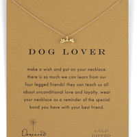 Dog Lover Bone-Pendant Necklace - Dogeared
