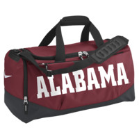 Nike Team Training Max Air (Alabama) (Medium) Duffel Bag (Red)
