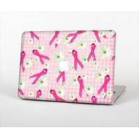 """The Pink Ribbon Collage Breast Cancer Awareness Skin Set for the Apple MacBook Pro 13"""""""
