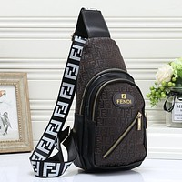 Fendi Woman Men Fashion Leather Chest Bag Crossbody Shoulder Bag Satchel