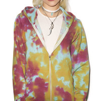 Young, Wild And Serene Trippin' Out Hoodie Tie Dye