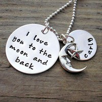 I Love You To The Moon And Back - S.. on Luulla