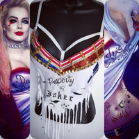 Harley Quinn Suicide Squad Bra: rave wear, festival, cosplay