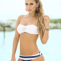 Nautical Two Piece Swimsuit