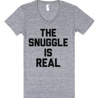 Athletic Grey T-Shirt   The Struggle Is Real