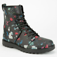 Volcom Go Figure Womens Boots Black Floral  In Sizes