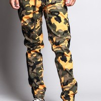 Men's Camo Jogger with Accent Band
