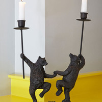 Woodland Creature Just Can't Bear It Candle Holder by ModCloth