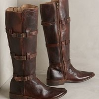Bed Stu Kitty Boots Brown