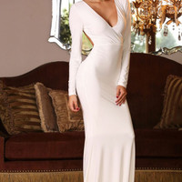 Moet Gown White