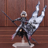 Fate/Grand Order FGO Avenger Alter Jeanne D'Arc Fate Figma 390 PVC Anime Action Figure Collectible Model Toy 14cm