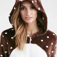 Plush Polka Dot Bear Jumpsuit