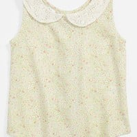 gingham by Sovereign Code 'Daisy' Top (Toddler Girls)   Nordstrom